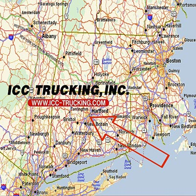 Centrally located in Connecticut between Boston and New York City